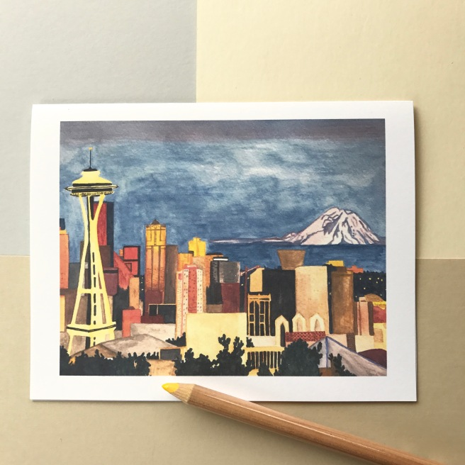'Seattle' - Blank Inside